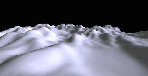 Three.js landscape